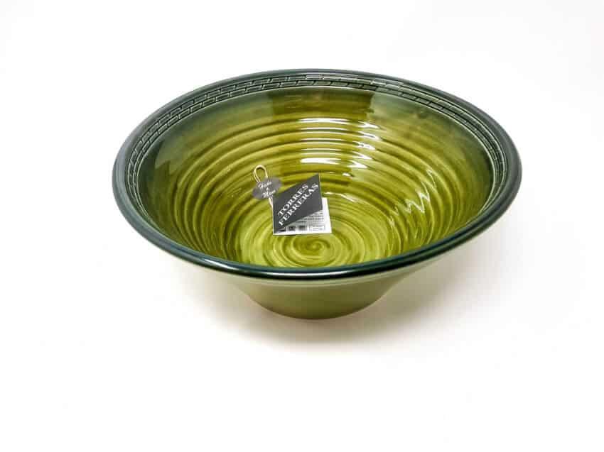 Torres Ferraras Spanish Ceramics Mediterraneo Handmade Bowl 34
