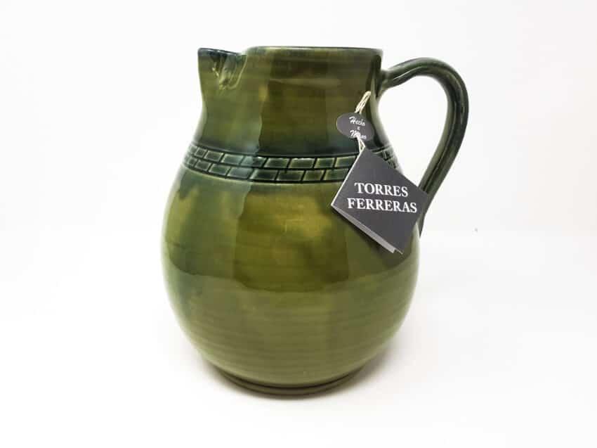 Torres Ferraras Spanish Ceramics Mediterraneo Range Wide jug