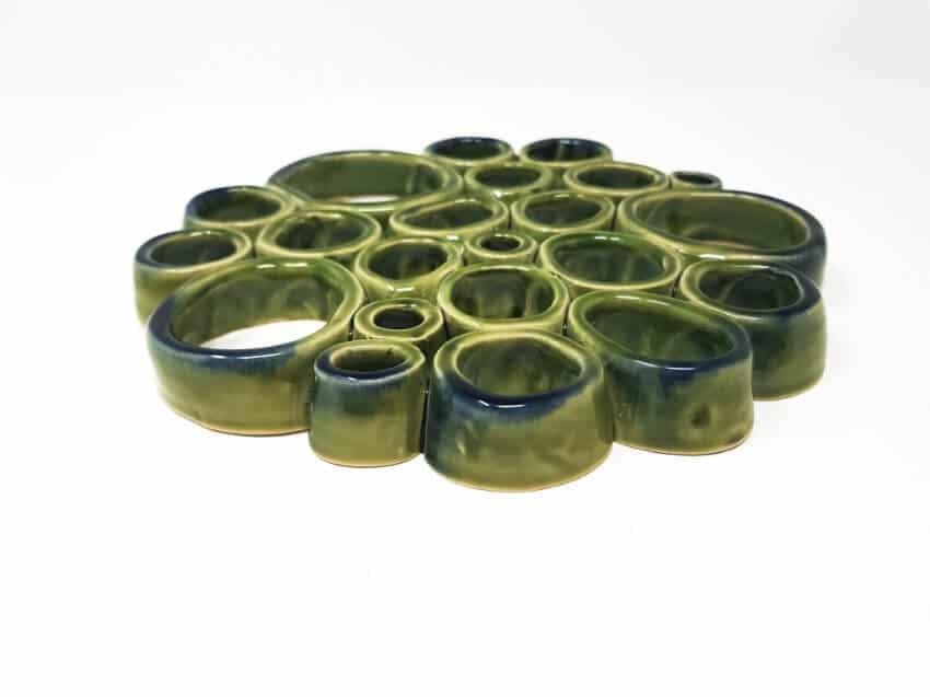 Torres Ferraras Spanish Ceramics Mediterraneo Trivet 6