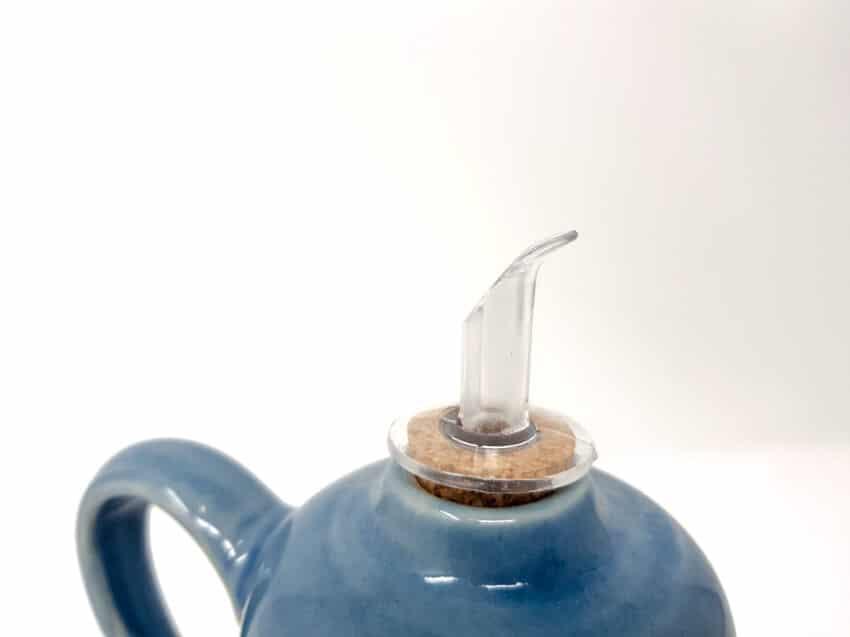 Torres-Ferreras-Spanish-Ceramics-Cielo-Oil Drizzler-Cork