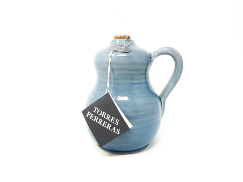 Torres-Ferreras-Spanish-Ceramics-Cielo-Oil Drizzler-Side-Profile
