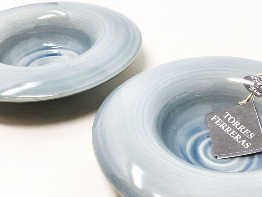 Torres-Ferreras-Spanish-Ceramics-Cielo-Set-of-2-Inverted-Pasta-or-Soup-Bowls-3
