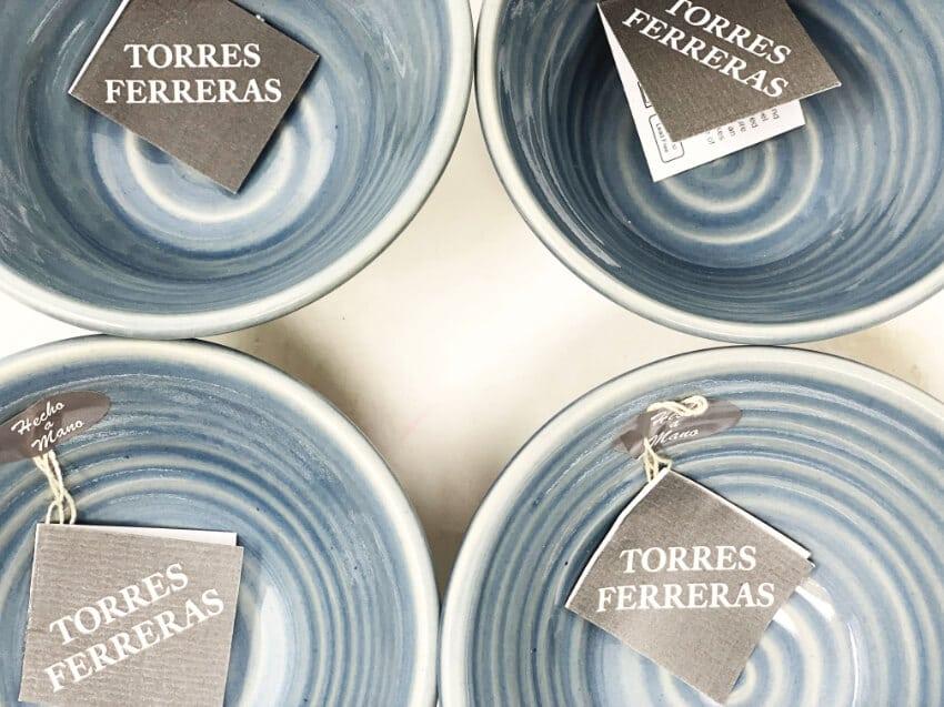 Torres-Ferreras-Spanish-Ceramics-Cielo-Set-of-4-Conical-Small-Bowls-3