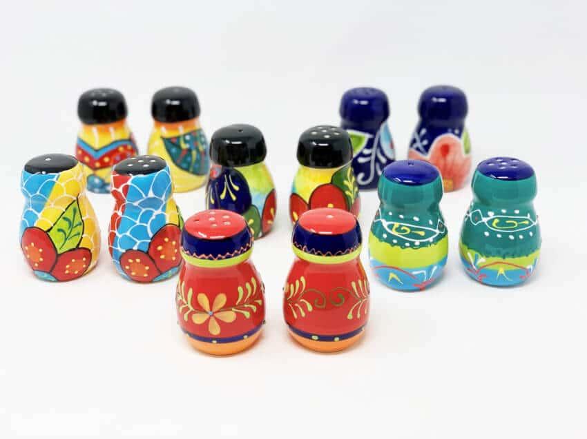 Classic Tapas - Set Of Salt & Pepper Pots