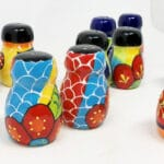 Verano-Ceramics-Classic-Spanish-Salt-And-Pepper-Pots-Group-3