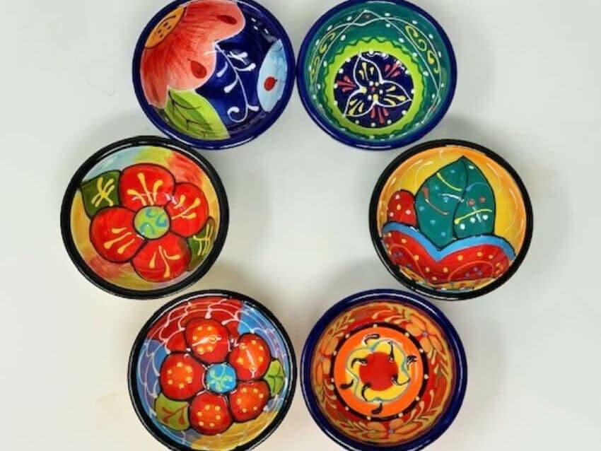 Verano-Ceramics-Classic-Spanish-Set-Of-6-9cm-Tapas-Bowls-3