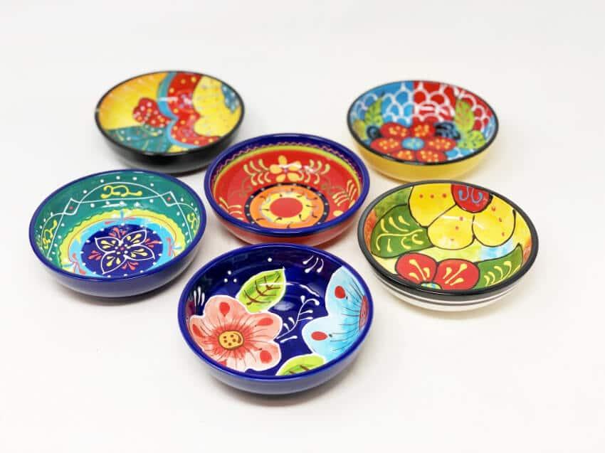 Verano-Ceramics-Classic-Spanish-Shallow-Tapas-Bowls-Group-2