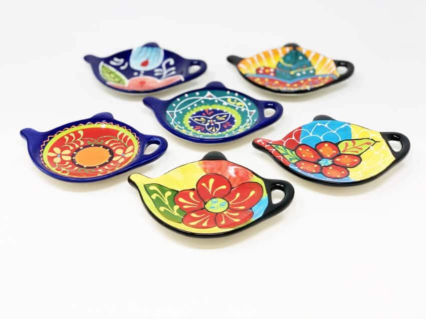 Verano-Ceramics-Classic-Spanish-Tea-Bag-Holder-Group-2