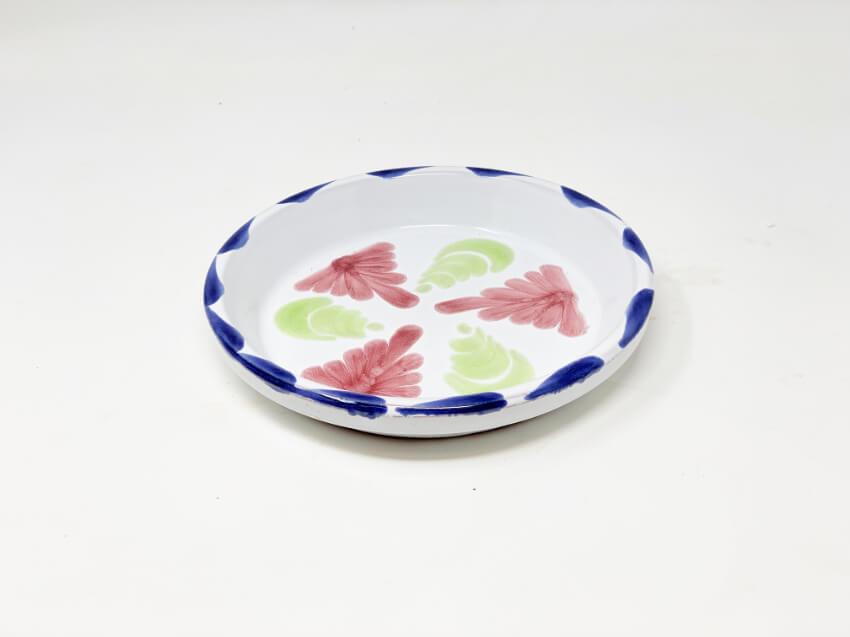 Verano-Ceramics-Pots-and-Planters-Traditional-Spanish-Floral-Flower-Pot-Drainage-Plate-20cm-1