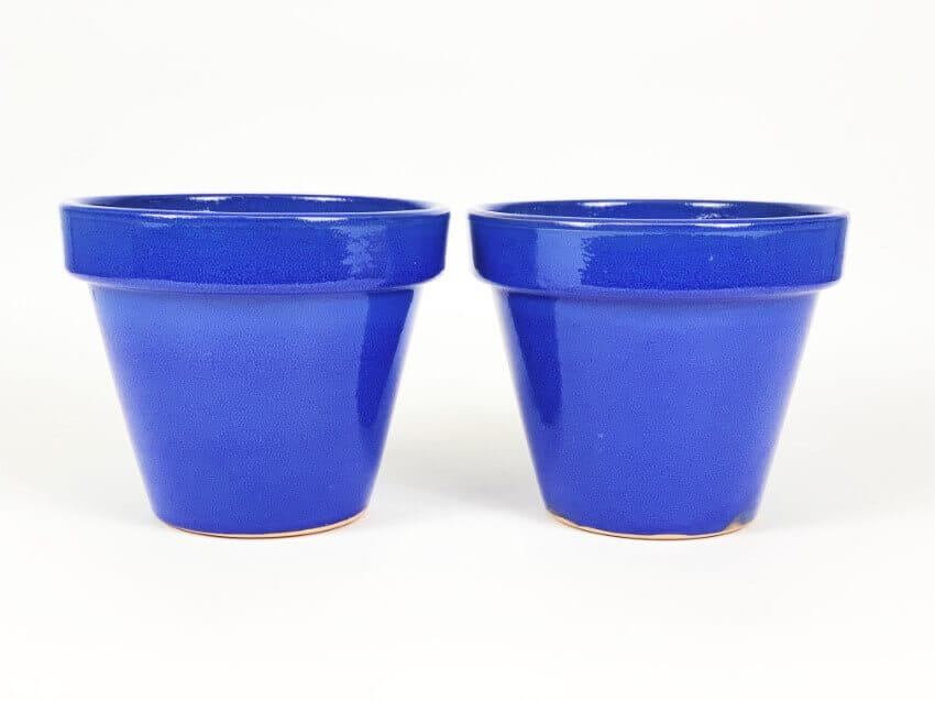 Verano-Ceramics-Selena-Classic-Pot-Blue-SPCPM24-Set-of-2
