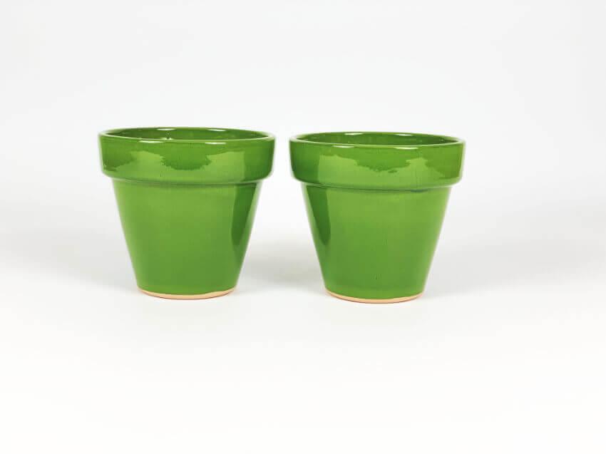 Verano-Ceramics-Selena-Classic-Pot-Green-SPCPM17-Set-of-2