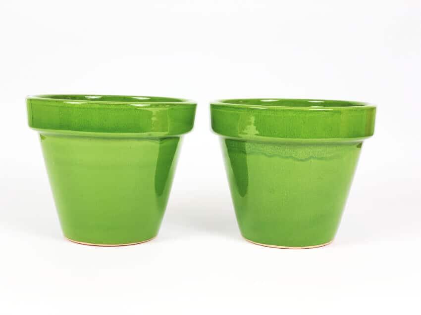 Verano-Ceramics-Selena-Classic-Pot-Green-SPCPM24-Set-of-2