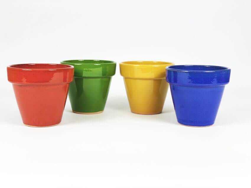 Verano-Ceramics-Selena-Classic-Pot-Mixed-SPCPM17-Set-of-4