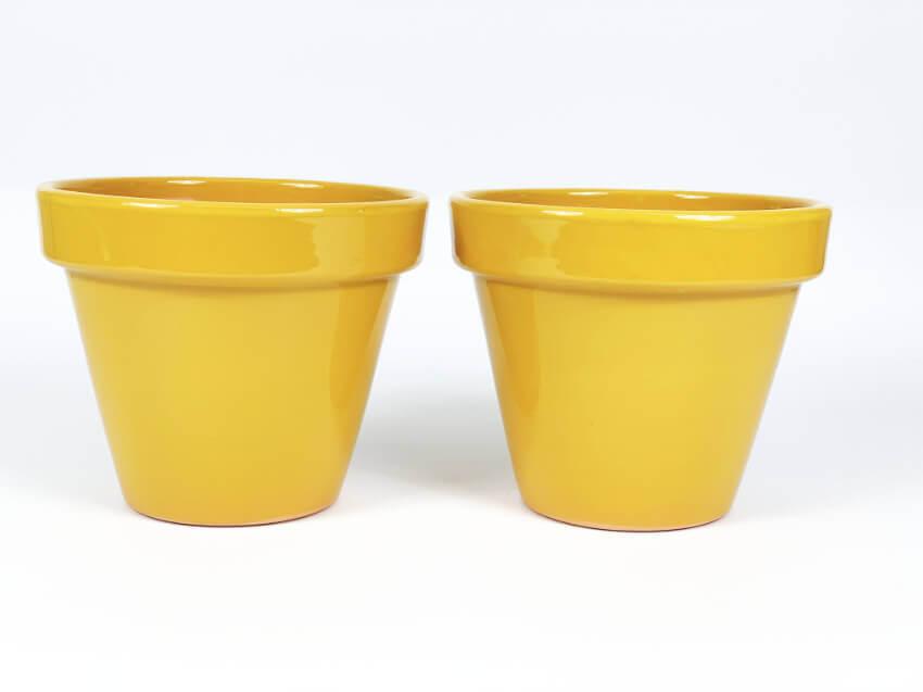Verano-Ceramics-Selena-Classic-Pot-Mustard-SPCPM24-Set-of-2