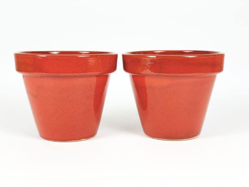 Verano-Ceramics-Selena-Classic-Pot-Red-SPCPM24-Set-of-2