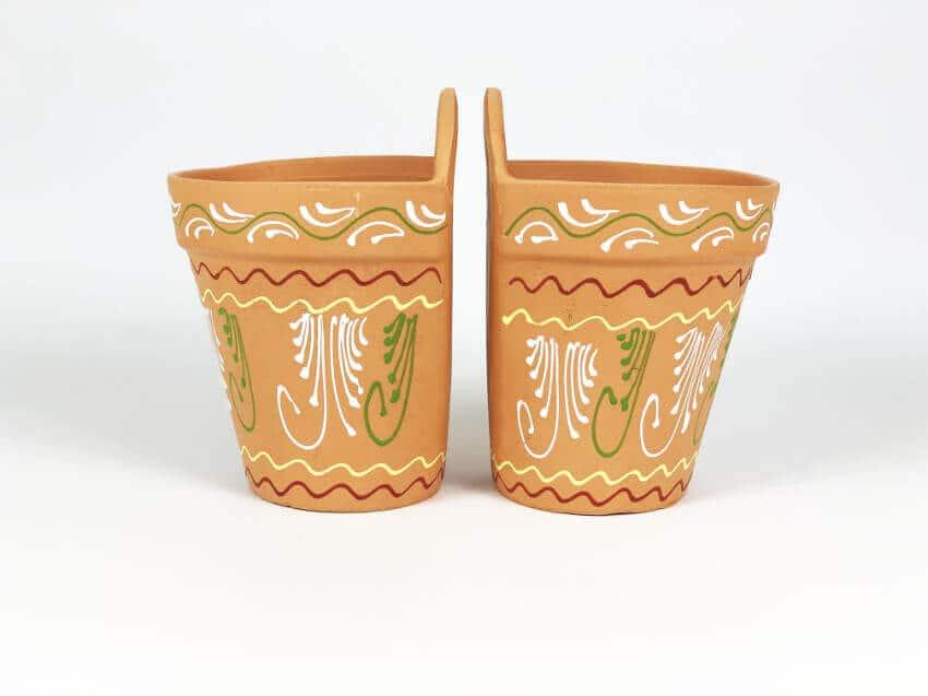 Verano-Ceramics-Set-of-2-Plain-rimmed-Inca-hanging-pots-TSHPI-14-19-21-(2)