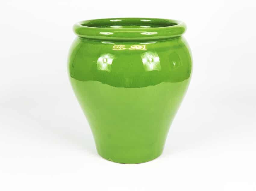 Verano-Ceramics-Spanish-Selena-Glaze-SP-GVM24and30-Selena-Green-Garden-Vase-2
