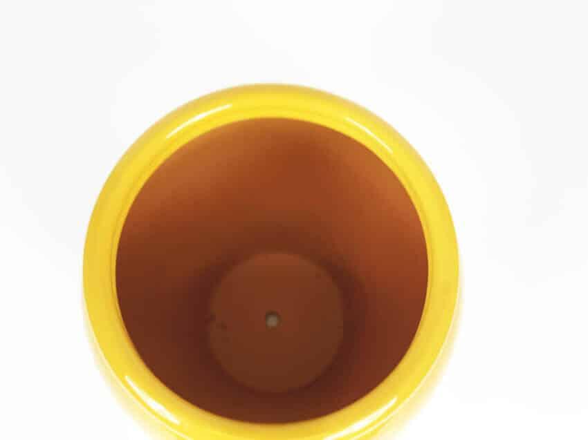 Verano-Ceramics-Spanish-Selena-Glaze-SP-GVM24and30-Selena-Mustard-Garden-Vase (2)-3