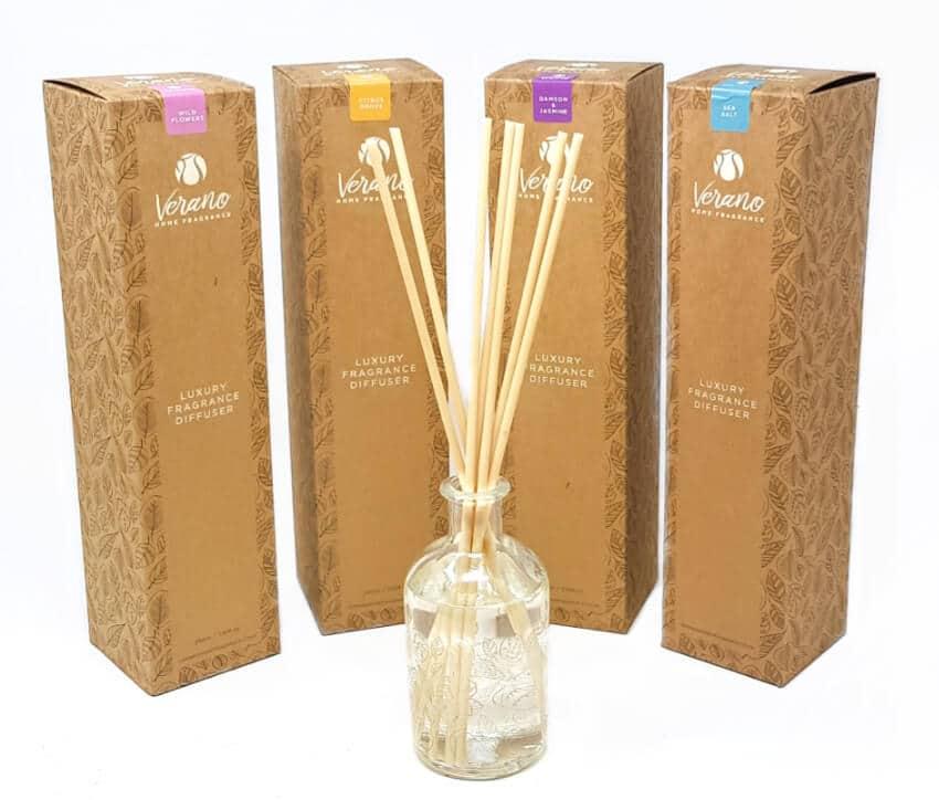 "Verano Home Fragrance ""Kraft"" Gift Boxed Diffuser 210Ml"