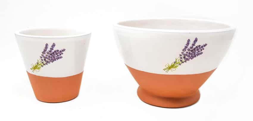 Soy Wax Lavender Fragrance Reusable Bowl Candles