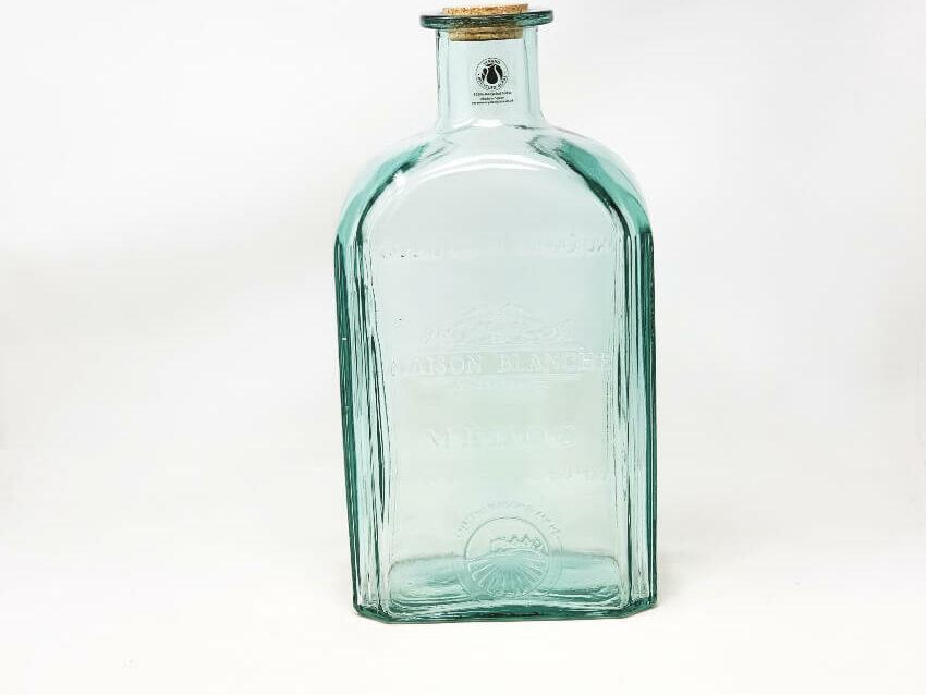 Large Antique Bottle With Cork