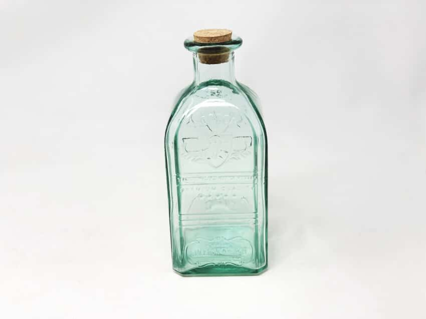 Verano-Recycled-Glass-Antique-Collection-Small-Bottle-With-Cork-2