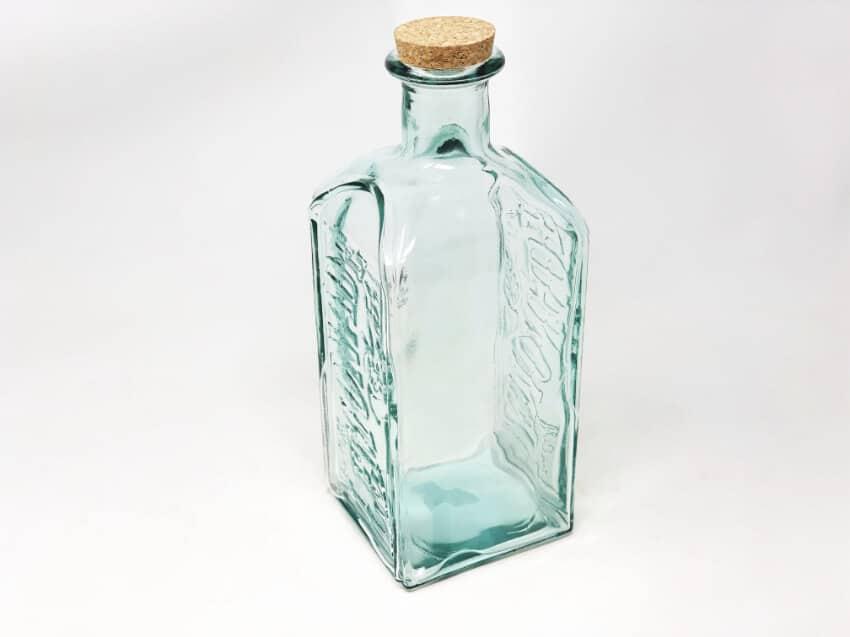 Antique Vintage Lemonade Bottle With Cork