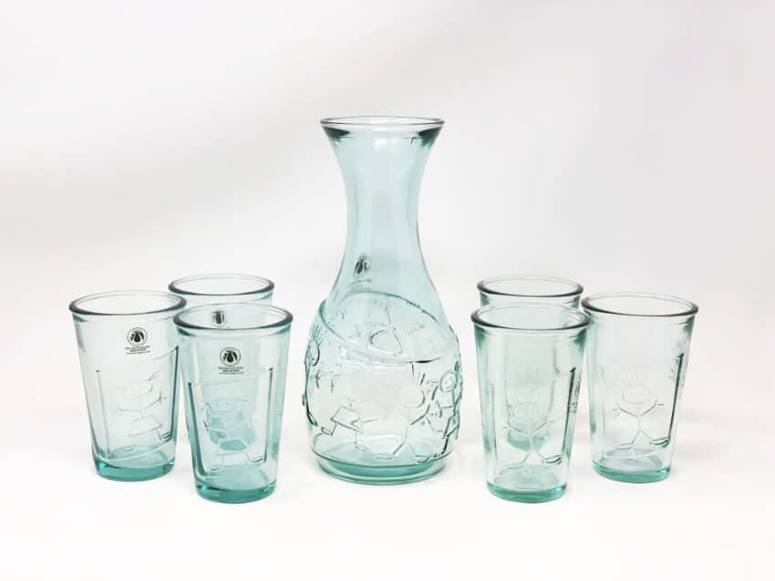 Creative Entertaining - Boy & Girl Together Decanter & Tumblers
