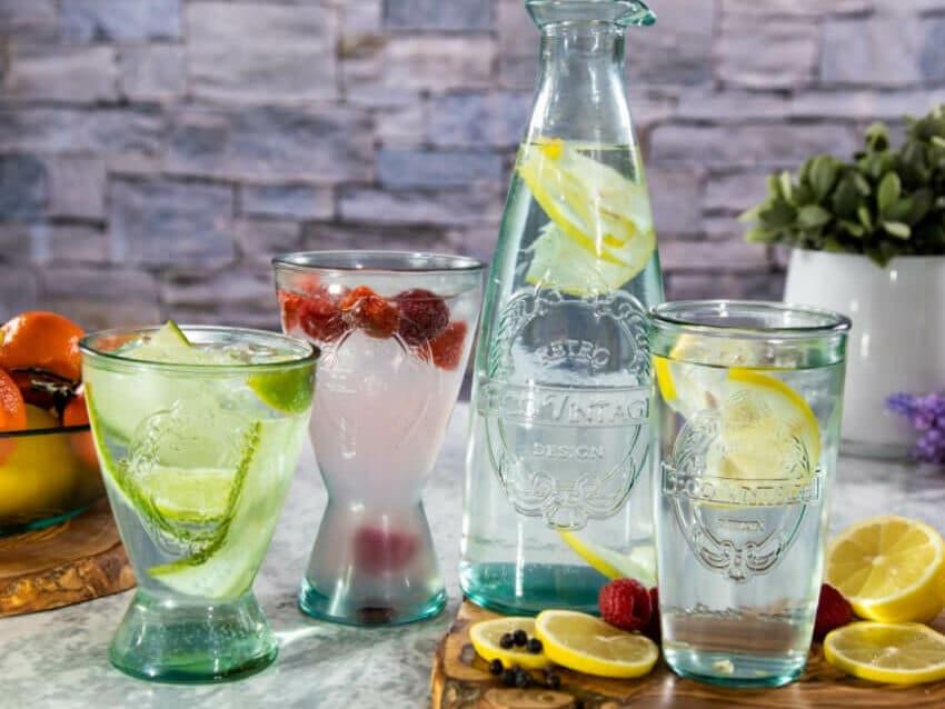 Eco Vintage - Sets Of 6 Glasses & Tumblers
