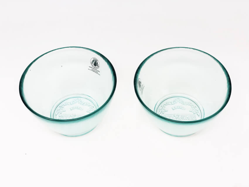 Verano-Recycled-Glass-Eco-Vintage-Set-Of-2-Small-Conical-Bowls-2