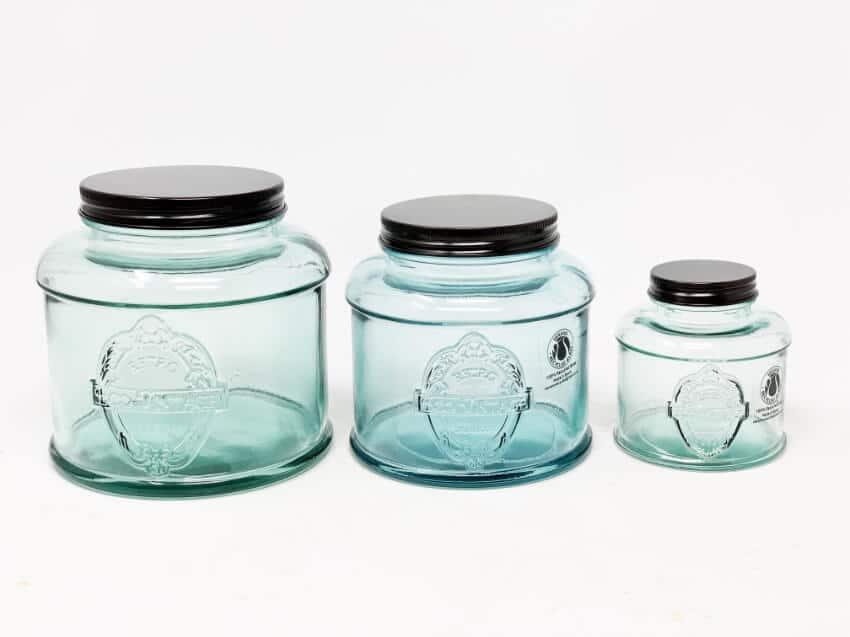 Eco Vintage - Set Of 3 Storage Jar(S)