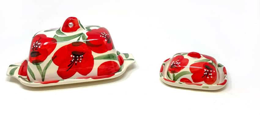 Castilian Poppies - Butter Dishes