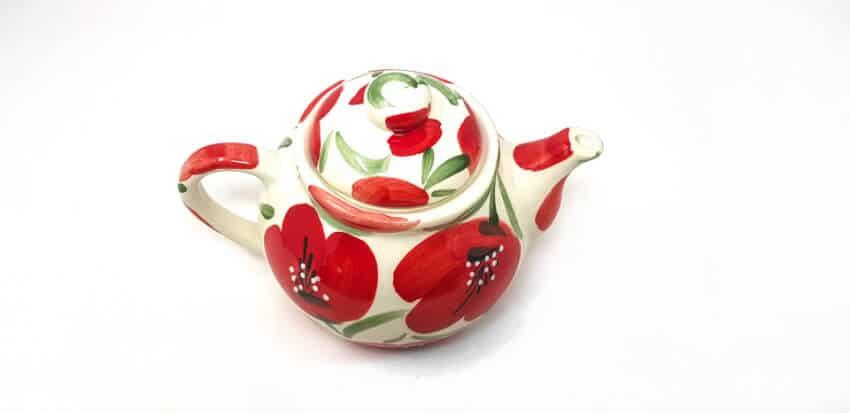Castilian Poppies - Teapot