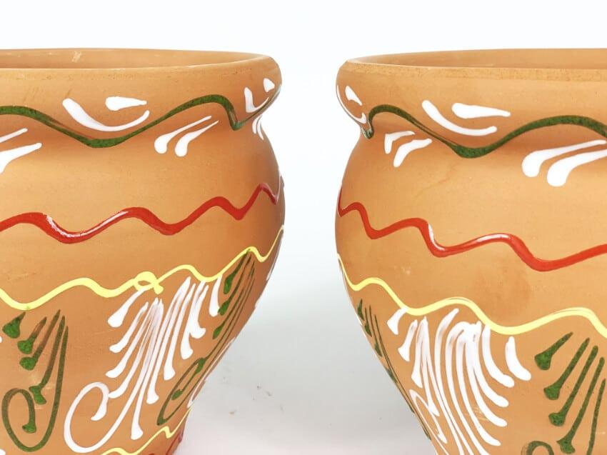 Verano-Spanish-Ceramics-Outdoor-Living-Bola-Inca-Pots-18cm-Plain-1