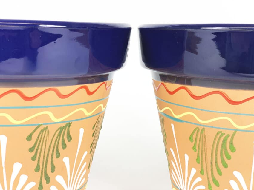 Inca Classic Pots - Hand Painted - 23