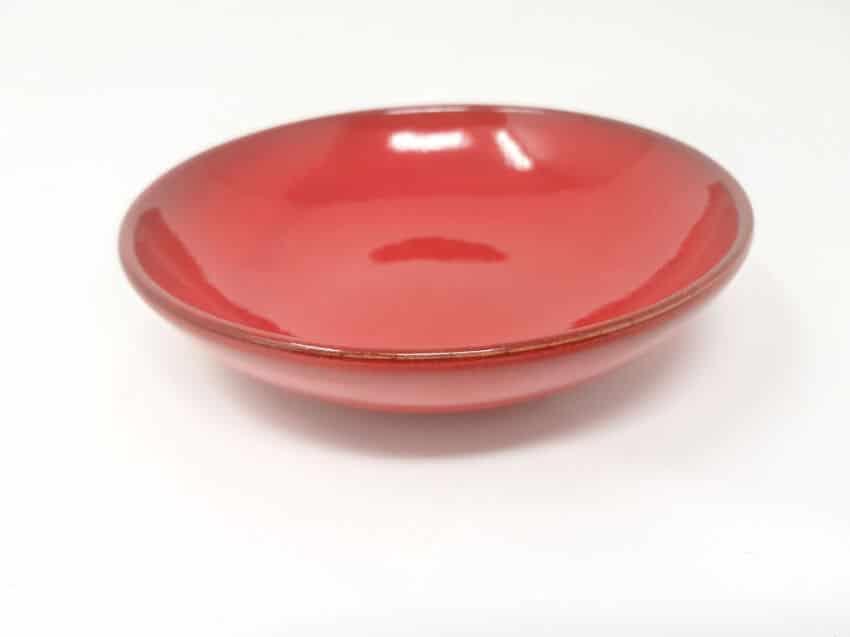 Verano-Spanish-Ceramics-Rustiqua-15Cm-Dipping-Dish-Red-1