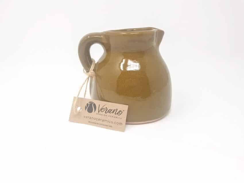 Verano-Spanish-Ceramics-Rustiqua-Chunky-Flat-Based-Jug-Teal-3