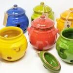 Verano-Spanish-Ceramics-Selena-Garlic-Jar-Group-4