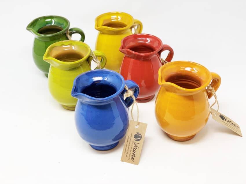Verano-Spanish-Ceramics-Selena-Mini-Jug-Group-2