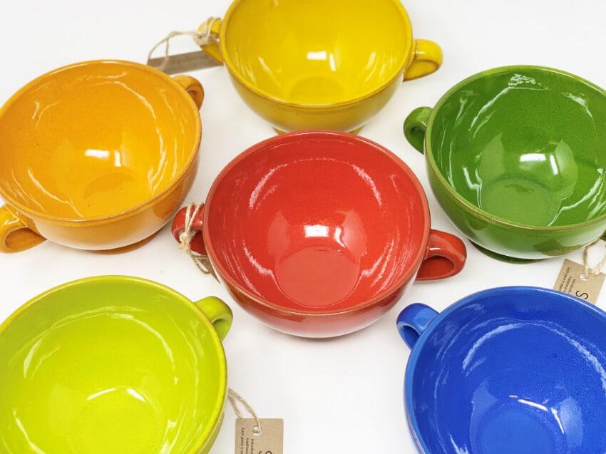 Verano-Spanish-Ceramics-Selena-Set-Of-2-Soup-Bowls-Group-2