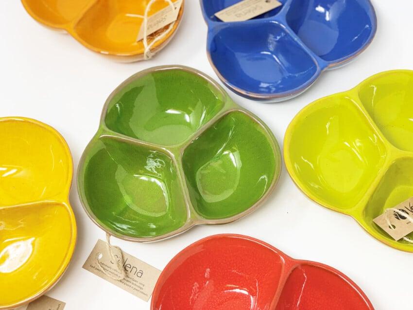 Verano-Spanish-Ceramics-Selena-Snack-Trio-Dish-Medium-Group-2