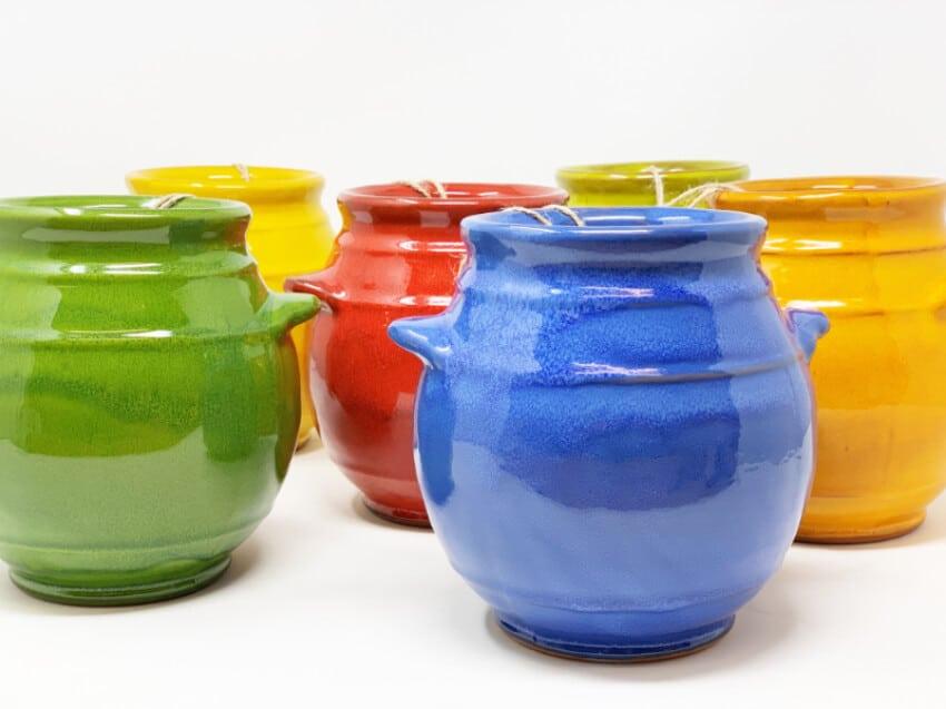 Verano-Spanish-Ceramics-Selena-Utensil-Jar-Group-2