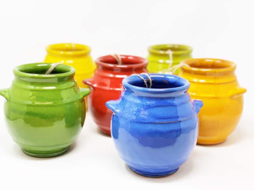 Verano-Spanish-Ceramics-Selena-Utensil-Jar-Group-3
