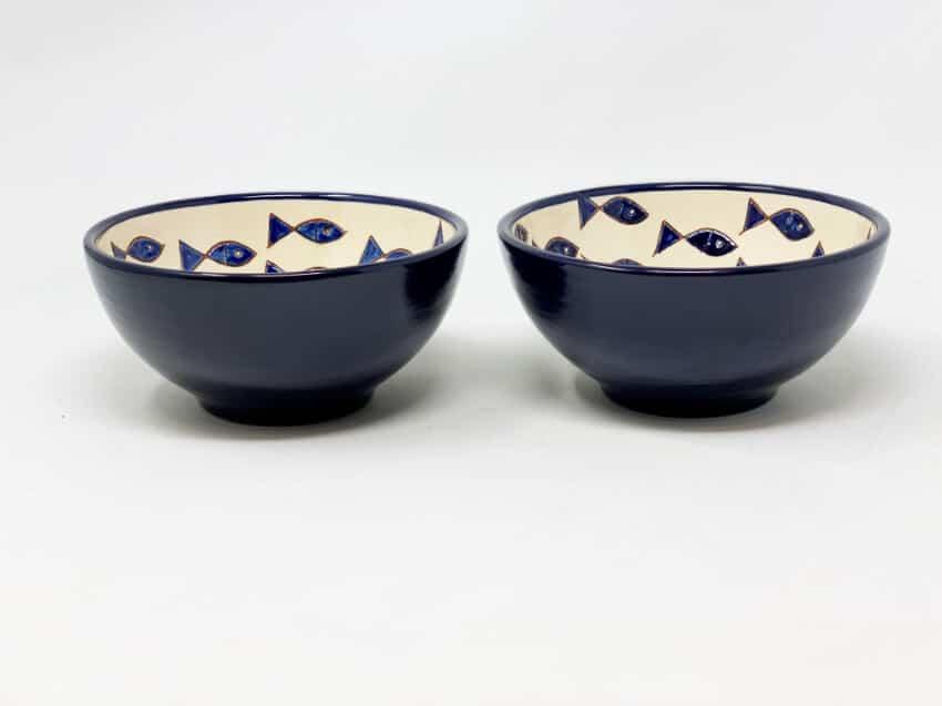 Verano-Spanish-Ceramics-Signature-Blue-And-White-Fish-Sets-Of-2-Appetiser-Bowls-Blue-Fish-1