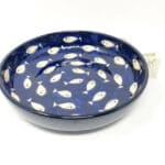 Verano-Spanish-Ceramics-Signature-Blue-and-White-Fish-Large-Bowl-10