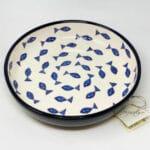 Verano-Spanish-Ceramics-Signature-Blue-and-White-Fish-Large-Bowl-5