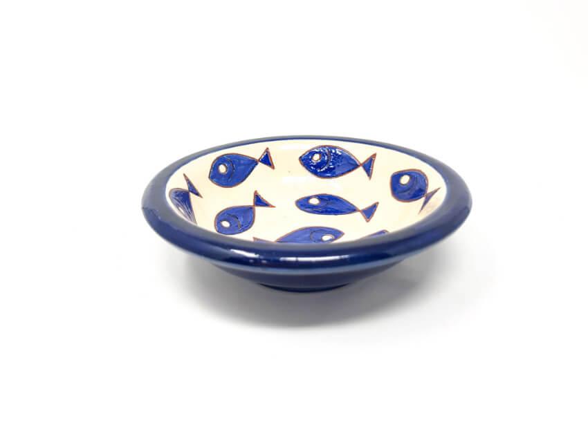 Verano-Spanish-Ceramics-Signature-Blue-and-White-Fish-Tapas-Bowls-11