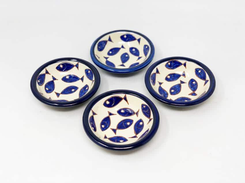 Verano-Spanish-Ceramics-Signature-Blue-and-White-Fish-Tapas-Bowls-3