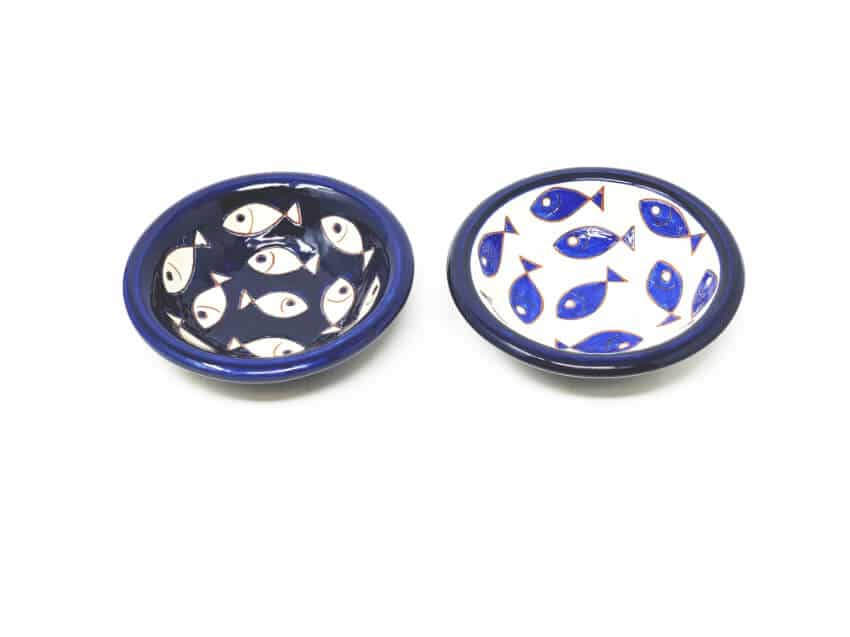 Verano-Spanish-Ceramics-Signature-Blue-and-White-Fish-Tapas-Bowls-9
