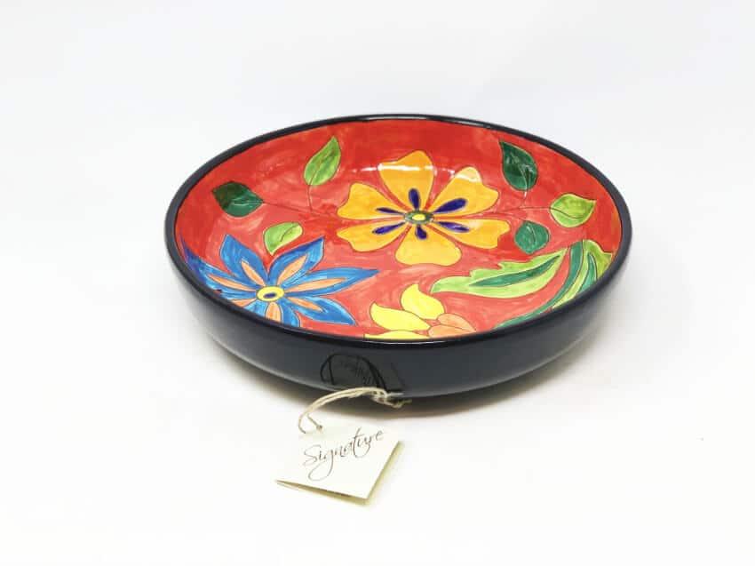 Signature - Flowers - 27Cm Large Bowl